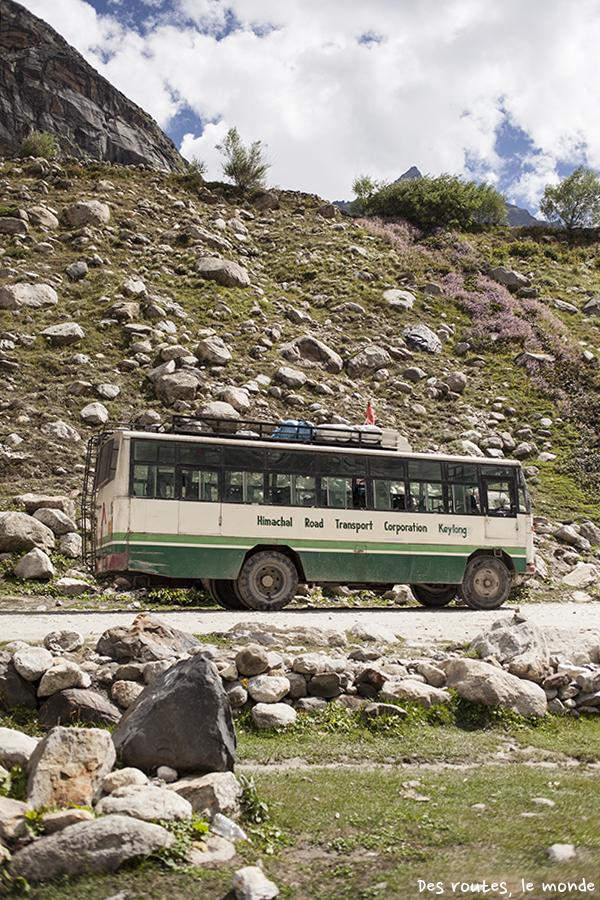 Notre bus tout terrain