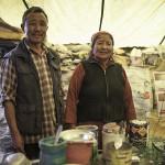 Couple tibétain sauveur de touristes