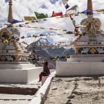 Temple tibétain à Kunzum La