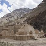 Vue d'ensemble sur le monastère