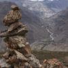 Cairn près du sommet