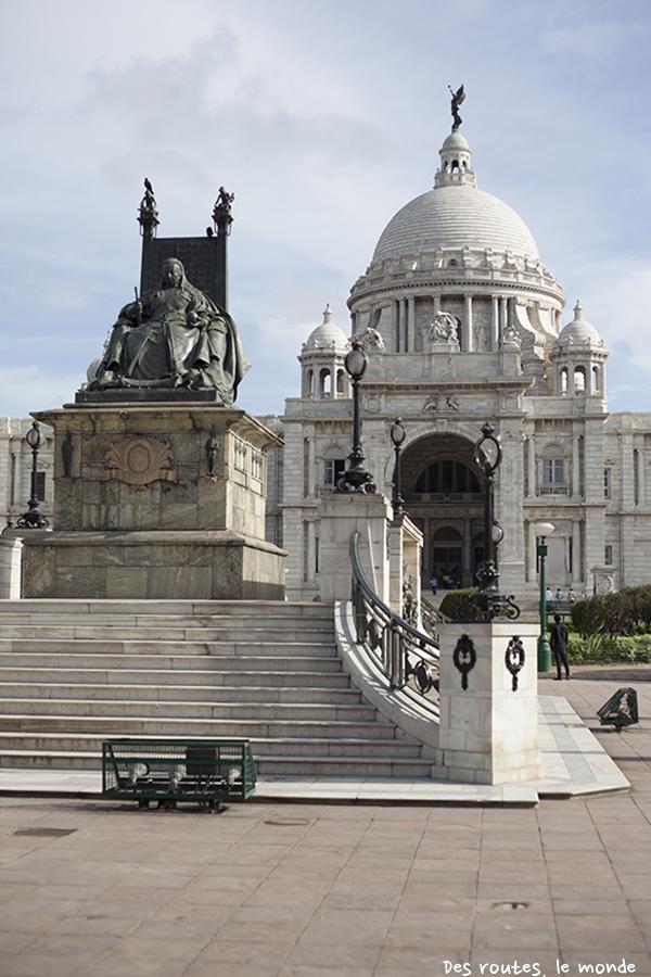 La reine Victoria sur son trône