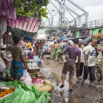 Le marché aux fleurs de Kolkata