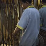 L'ascenseur de la guesthouse