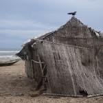 Une cahutte sur la plage