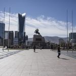 La place du Parlement mongol