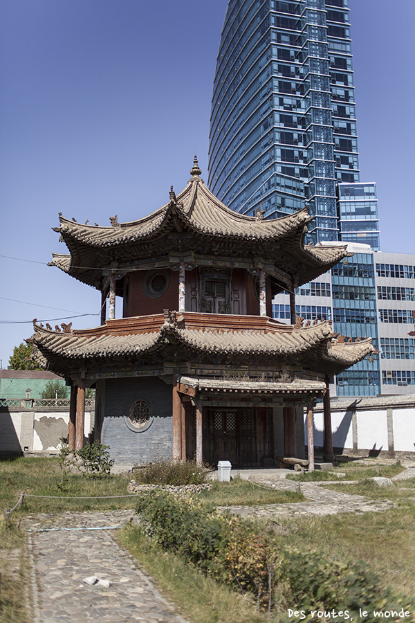 Temple au coeur de la capitale