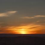 Premier coucher de soleil mongol