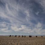 Des chameaux dans les nuages