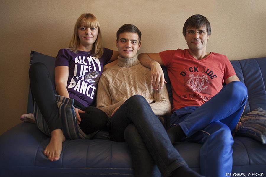 Igor et ses parents