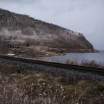 Un village sur le lac Baikal