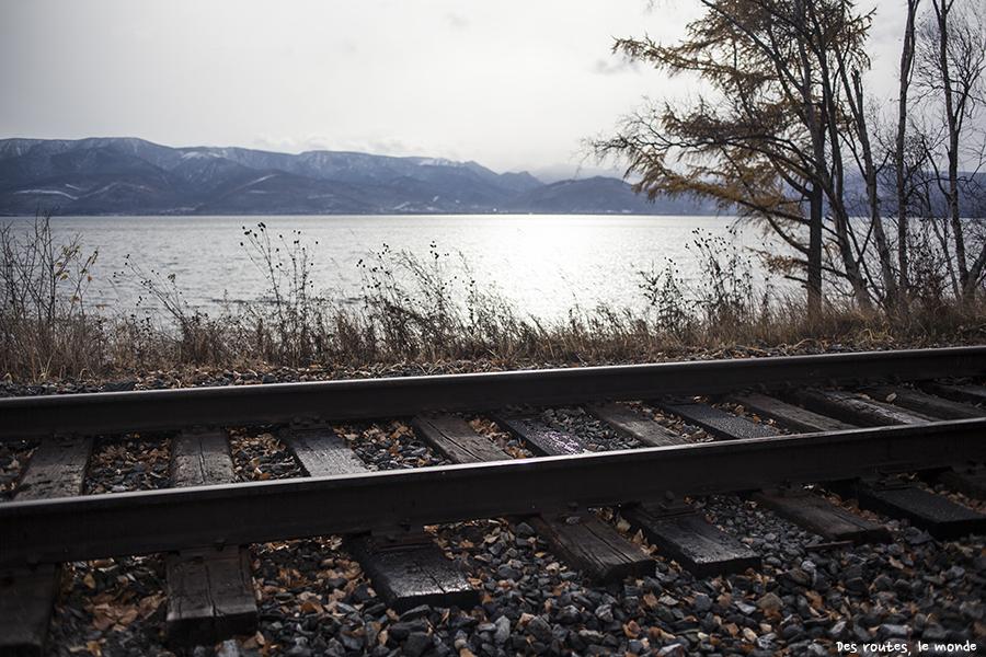 Les rails du transsibérien