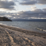 Le Baikal en fin de journée