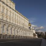 L'extérieur du Grand Palais du Kremlin