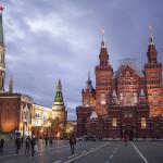 Le Musée historique d'État et le Kremlin