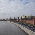 Le Kremlin et la Moskova