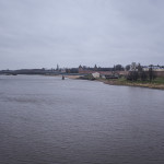 Vue sur le Kremlin de Novgor