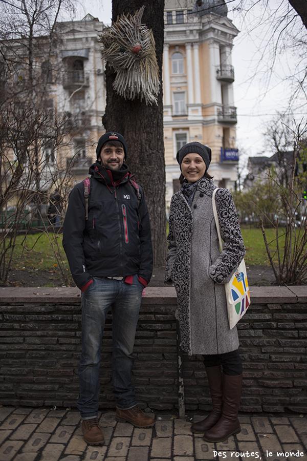 Galina, notre guide d'un jour