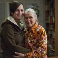 Sasha et sa grand-mère