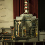 La maquette du réacteur n°3