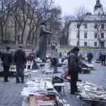 Un marché de livres