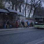 L'arrêt de bus